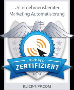 zertifizierter Unternehmensberater für Marketing Automatisierung